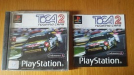 TOCA Touring Cars 2  Playstation 1  PS1 CASE and MANUAL Only NO DISC - $3.91