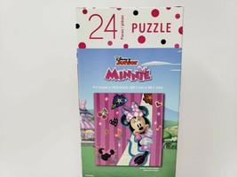 Disney Junior 24 Pc Jigsaw Puzzle - New - Minnie Mouse - $8.99