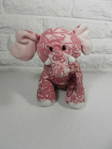 Webkinz Batik Elephant Pink Ganz Stuffed Animal No Code Tag - $8.90