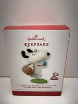Hallmark Ornament 2014 Peanuts Gang Snoopy Its the East Beagle - $12.82