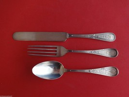 Hindostanee by Gorham Sterling Silver Junior Set 3pc (Knife/Fork/Spoon) - $221.45