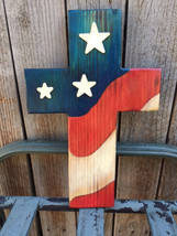 FREE SHIPPING Wooden crosses,flags,plaques,signs - $42.08