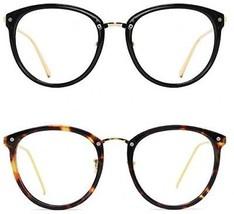 TIJN Vintage Optical Eyewear Non-prescription Eyeglasses Frame With Clear (I, - $50.45