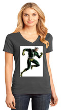 Quicksilver Pietro Maximoff District Made Ladies V-Neck T-Shirt Size XS To 4XL - $19.99+