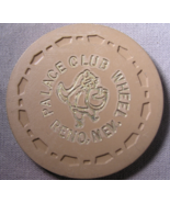 """1972 Roulette Chip From: """"The Palace Club Since 1888""""- (sku#2202) - $7.75"""