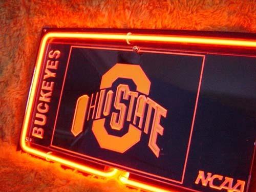 """NCAA Ohio State University OSU Buckeyes 3D Neon Light Sign 14"""" x 8"""""""