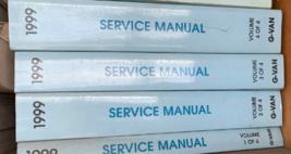 1999 Chevrolet express gmc savana shop repair service workshop manual set oem - $89.05