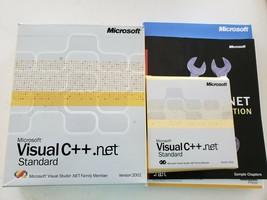 Microsoft Visual C++ .net Standard Software Version 2002 - $19.80