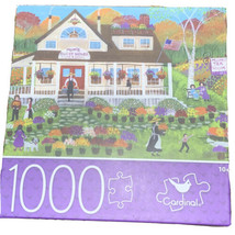1000 Piece Jigsaw Puzzle Mum's Guest House By Cardinal New 24x18 - $35.48