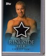 WWE Christian Ringside Relic Authentic Event-Worn Shirt ( WWF TNA wrestl... - $5.00