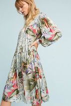 NWT $228 ANTHROPOLOGIE PARADISO SWING DRESS by GEISHA DESIGNS S - $113.99