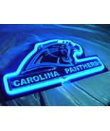 """NFL Carolina Panthers Football Beer Bar 3D Neon Light Sign 10"""" x 6"""" - $199.00"""