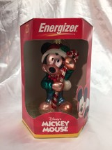 Disney's Mickey Mouse 2000 European Style Blown Glass Ornament Candy Can... - $24.74