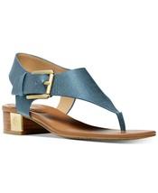MICHAEL Michael Kors London Thong Block Heel Sandals Size 9.5 - $89.09