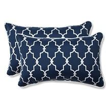 Pillow Perfect Outdoor/Indoor Garden Gate Rectangular Throw Pillow Set o... - $47.44