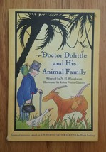 Doctor Dolittle and His Animal Family adapted for younger readers Book P... - $4.94