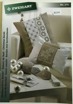 Zweigart Booklet 215 Cross Stitch Pattern Christmas Stitch Bands Stars A... - $12.30