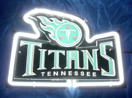 "NFL Tennessee Titans Beer Bar 3D Neon Light Sign 10"" x 7"" - $299.00"