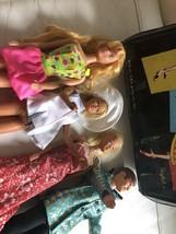 Vintage 1961 Barbie Case With 1970's Barbie Talking Ken Dolls - $124.99