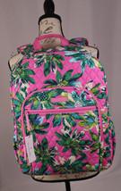 "Vera Bradley Campus 15"" Backpack Tropical Paradise 14313-J26 NWT Free Ship - $77.39"