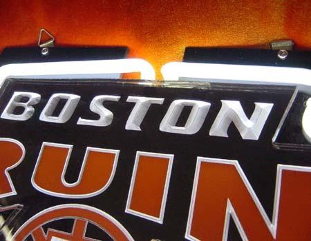 "NHL Boston Bruins Hockey Beer Bar 3D Neon Light Sign 10"" x 6"""