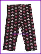 NWT GYMBOREE NICE KITTY Brown HEART LEGGING PANTS 3 6 MONTHS - $8.99