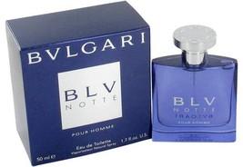 Bvlgari Blv Notte Pour Homme Cologne 1.7 Oz Eau De Toilette Spray  image 2