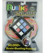 Rubik's Slide Electronic Game 10,000+ Brain Busting Puzzles Rubiks Cube NEW - $17.81