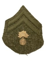 Original WWI U.S. Army Ordnance Corporal Chevrons Wool Embroidered Patch - $12.16