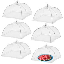 Simply Genius (6 Pack) Large And Tall 17X17 Pop-Up Mesh Food Covers Tent... - $17.63