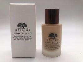 Origins Stay Tuned Balancing Foundation Makeup 02 Eggshell- 1oz Full Siz... - $42.56