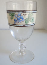Mikasa Garden Harvest Water Goblet image 3