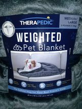 THERAPEDIC Weighted PET  Blanket 3 pounds GREY -   --FREE SHIPPING image 4