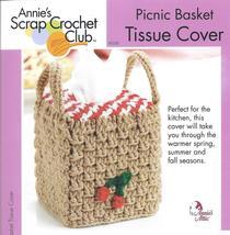 Tissue Basket Tissue Cover~Annie's Crochet Pattern - $2.49
