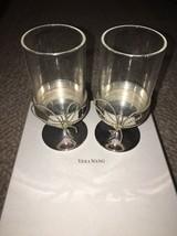Vera Wang Love Knots Pair Of Tealight Holders NEW Retail $56 - $24.99
