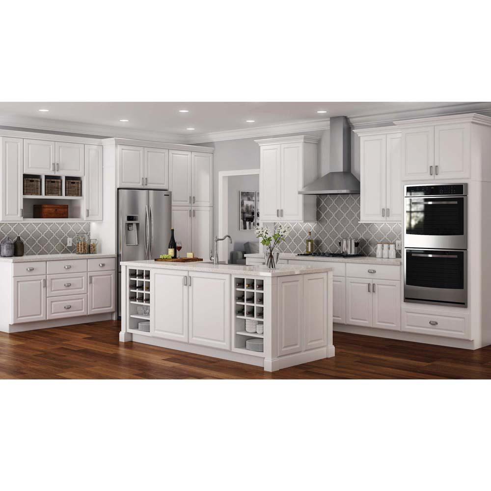 Hampton Bay Hampton Assembled 18x84x24 in. Pantry Kitchen ...
