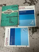 1983 Toyota Celica Service Réparation Atelier Manuel OEM Usine Set - $69.80