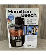 Hamilton Beach Stack & Snap Food Processor #70721~10 Cup Capacity~Black~... - $44.55