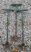 Lot 3 Garden Tulip Bulb Metal Planter Outdoor Gardening Yard Tool Supply... - £55.31 GBP