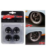5-Spoke Wheel and Tire Pack of 4 from 1966 Ford Fairlane Street Fighter ... - $28.04