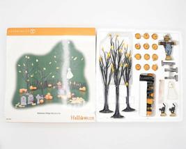 Department 56 Halloween Village 24 Piece Accessory Set #56.52957 Complete - $34.95