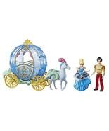 Disney Princess Royal Carriage Ride, Cinderella & Prince Charming Dolls - $37.03