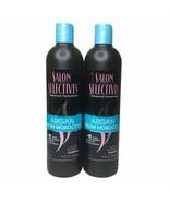 Lot of 2 New Salon Selectives Argan Oil From Morocco Shampoo 12 fl oz each  - $29.70