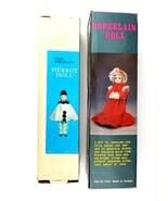 Vintage Fine Porcelain Pierrot Doll (1) Antique Fine Porcelain Doll (1) ... - $45.47