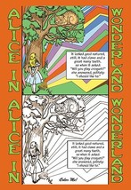 Alice in Wonderland: Alice and the Cheshire Cat - Color Me! by John Tenn... - $19.99+