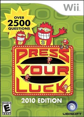 Press Your Luck 2010 Edition - Wii