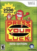 Press Your Luck 2010 Edition - Wii - $13.99