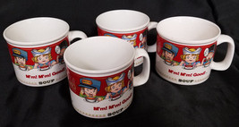 VINTAGE CAMPBELL SOUP COMPANY  MUGS (SET OF 4) - $27.00