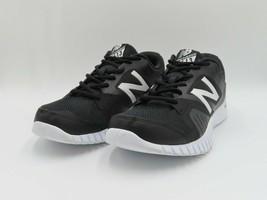 New Balance Mens 613 MX613BK Black/White Running Athletic Training Shoes Size 11 - $44.99
