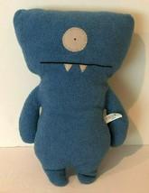 """UglyDoll Ugly Classic Plush Doll Wedgehead Stuffed Animal 13"""" Blue 2004  - $24.99"""